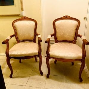 Furniture- French Provincial Chairs